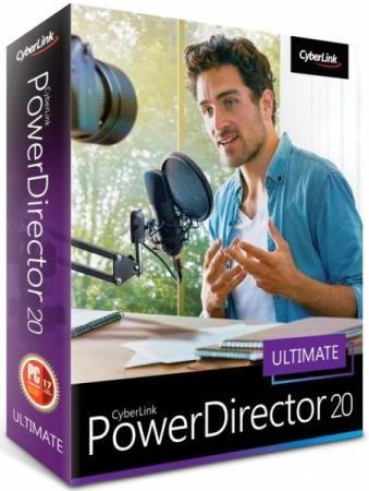 CyberLink PowerDirector Ultimate 20.0.2204.0 RePack by PooShock